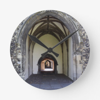 Canterbury Cathedral cloister, Round Clock