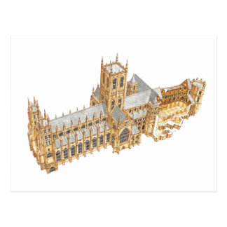 Canterbury Cathedral. Great Britain Postcard