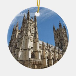 Canterbury Cathedral Kent England Ceramic Ornament
