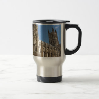 Canterbury Cathedral Kent England Stainless Steel Travel Mug