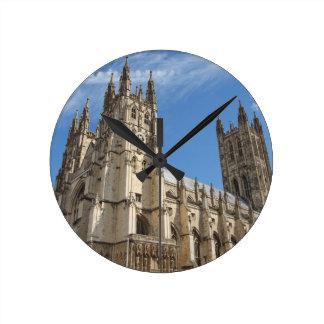 Canterbury Cathedral Kent England Round Clock