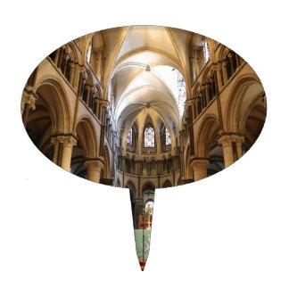 Canterbury Cathedral, Kent, UK Cake Topper