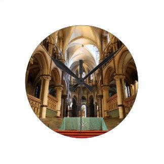 Canterbury Cathedral, Kent, UK Round Clock