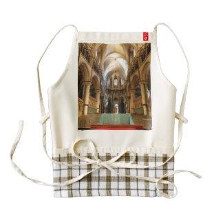 Canterbury Cathedral, Kent, UK Zazzle HEART Apron