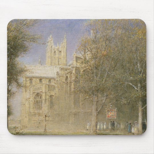 Canterbury Cathedral Mouse Pad