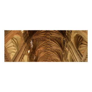 Canterbury Cathedral Nave Poster
