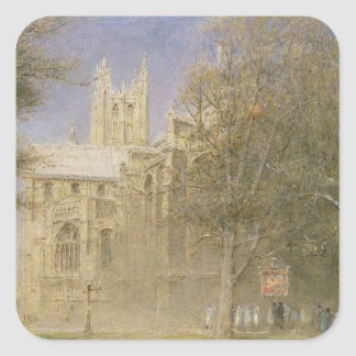 Canterbury Cathedral Square Sticker