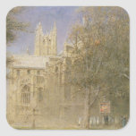 Canterbury Cathedral Square Stickers