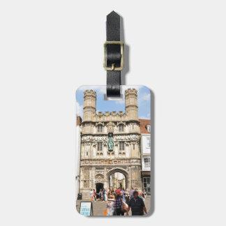 Canterbury Luggage Tag