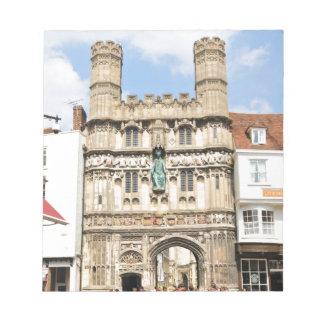 Canterbury Notepad