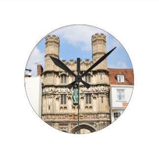 Canterbury Round Clock