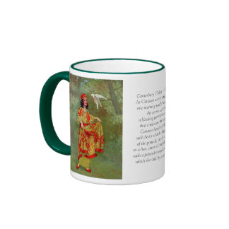 Canterbury Tales - Canacee Ringer Coffee Mug