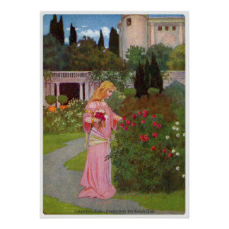 Canterbury Tales - Emelye Poster