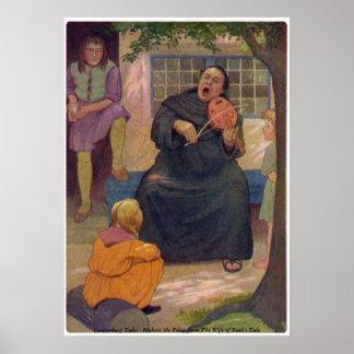 Canterbury Tales - Hubert the Friar Poster