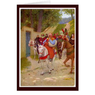 Canterbury Tales - The Miller Card
