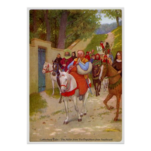 Canterbury Tales - The Miller Poster