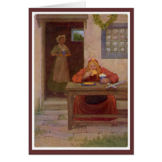 Canterbury Tales - The Pardoner Greeting Card