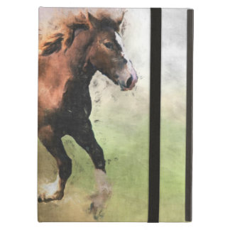 Cantering foal art cover for iPad air