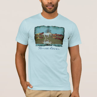 Cantering Mustangs Horse-Lover Freedom Shirt