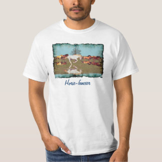 Cantering Mustangs Horse-Lover Freedom T-Shirt