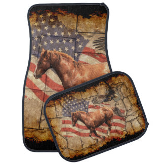 Galloping Horse Car Floor Mats Zazzle