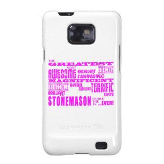 Canteros de los chicas: Cantero más grande rosado Samsung Galaxy S2 Fundas