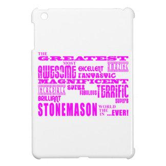 Canteros de los chicas: Cantero más grande rosado iPad Mini Fundas
