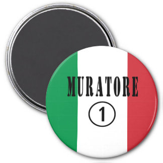 Canteros italianos: Uno de Muratore Numero Imán De Frigorífico
