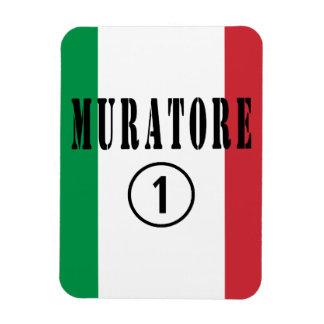 Canteros italianos: Uno de Muratore Numero Imán