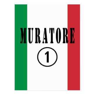 Canteros italianos: Uno de Muratore Numero Postal