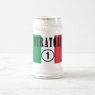 Canteros italianos: Uno de Muratore Numero Taza De Café