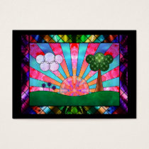 Canticle of the Sun Bookmarks Business Card