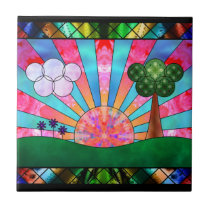 Canticle of the Sun Decorative Tile / Trivet