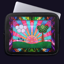 Canticle of the Sun Laptop Sleeve