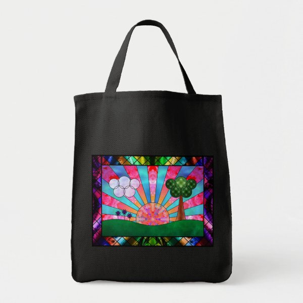 Canticle of the Sun Tote Bag