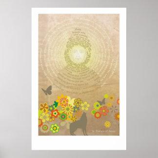 Cántico del Sun: Poster grande Póster