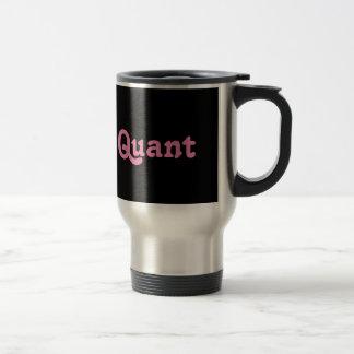 Cantidad de la taza