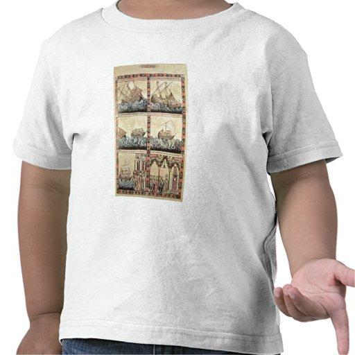 Cantiga 33, page from the 'Cantigas de Santa Maria Shirts