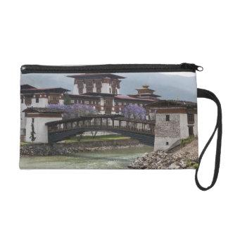 Cantilevered bridge near Punakha Dzong palace Wristlets