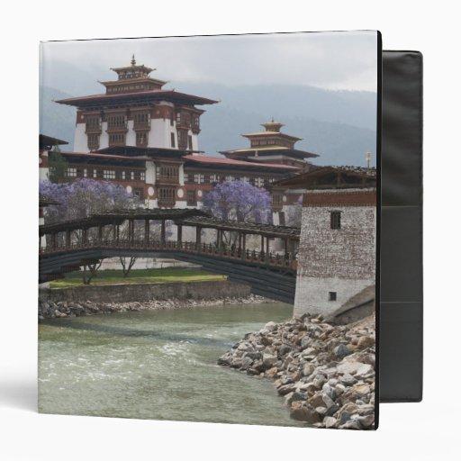 Cantilevered bridge near Punakha Dzong palace Binder