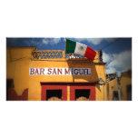 Cantina, San Miguel de Allende, Mexico, Photo Card