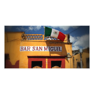 Cantina, San Miguel de Allende, México, tarjeta de Tarjetas Personales