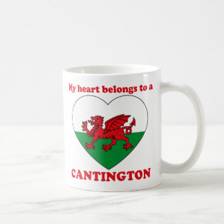 Cantington Taza Básica Blanca