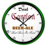 Cantlon Beer Wallclocks