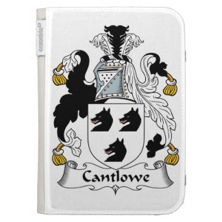 Cantlowe Family Crest Kindle Folio Case