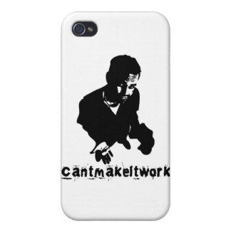 CantMakeItWork - logotipo iPhone 4 Funda
