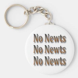 Canto anti divertido de Newt Gingrich Llavero Redondo Tipo Pin