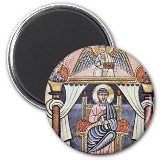 Canto aurífero del códice aurífero del códice de imán redondo 5 cm