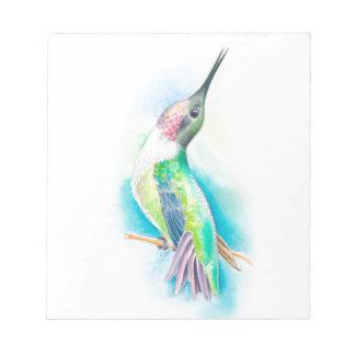 Canto del colibrí bloc de notas