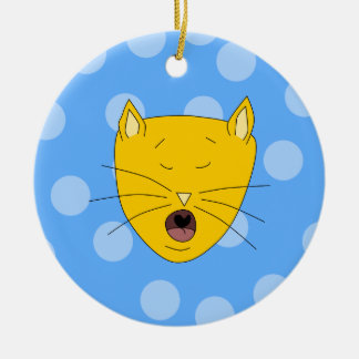 Canto del gato ornamento para reyes magos